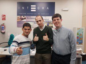 Convenio de colaboración Afanias y Grupo Integra CEE